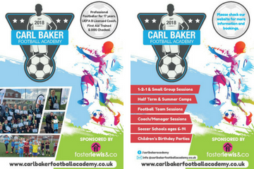 carl baker football academy coventry